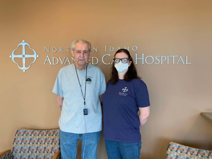 Bill Stryker came to NIACH after suffering respiratory failure due to COVID-19 pneumonia